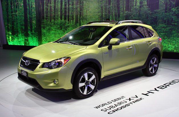 2014 Subaru Xv Crosstrek Hybrid Finally Adds Gas Electric Option To The Brand W Video Autoblog In 2020 Subaru Crosstrek Subaru Best Hatchback Cars