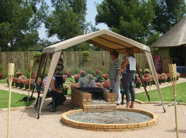 Braai Area Idea Diy Pinterest House