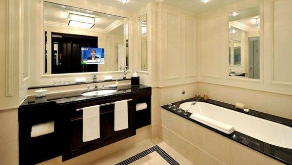 Tv In The Bathroom Mirror Genius Man Cave Bathroom Mirror Tv