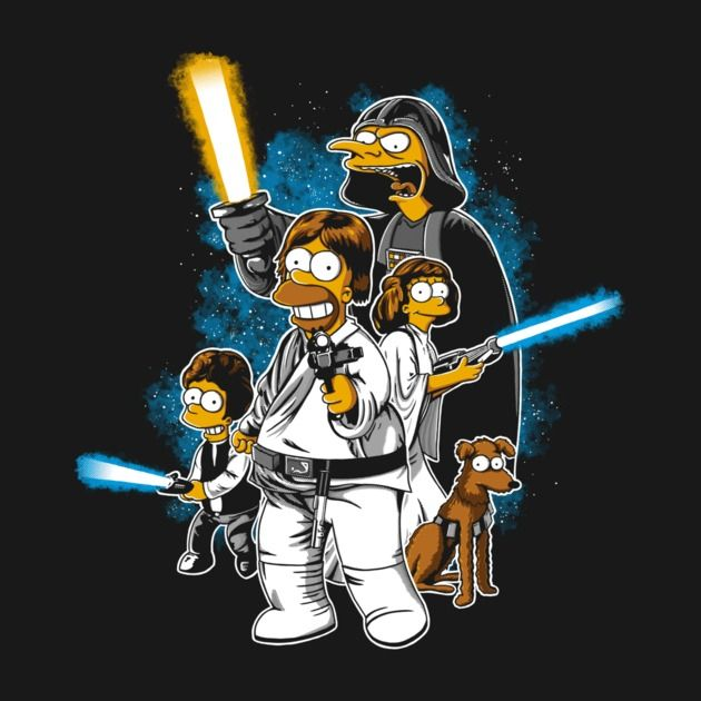 The Simpsons Star Wars 1