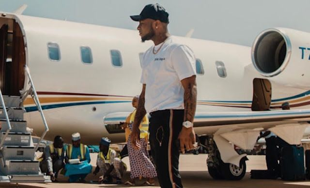 Private Jet ya Davido yatua Nigeria | NEWS | Private jet, Jet