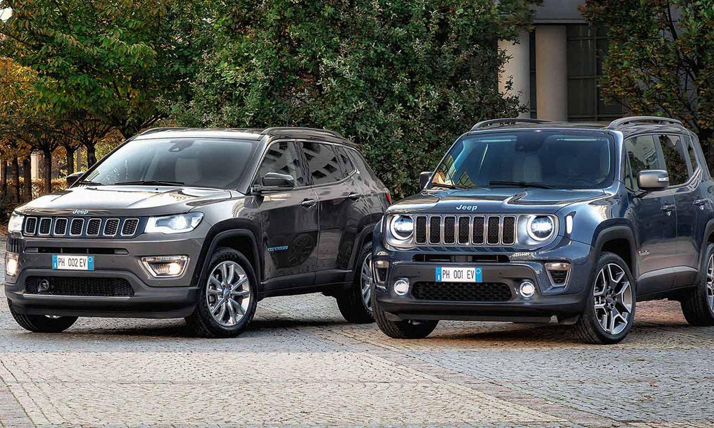 Jeep Renegade 4xe Y Compass 4xe Llegan Los Hibridos Enchufables Jeep Renegade Sobrealimentacion Y Motor Electrico