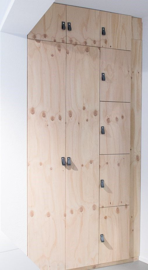 + DIY Cabinet Made Of Plywood ... More