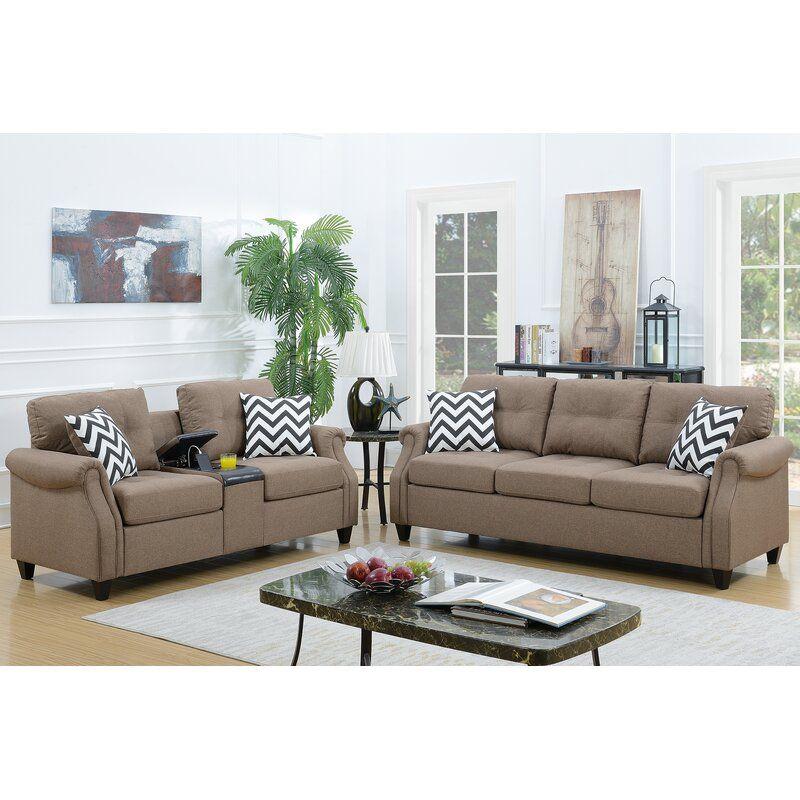 Warrick 2 Piece Living Room Set Living Room Sets Sofa And Loveseat Set Sofa Set