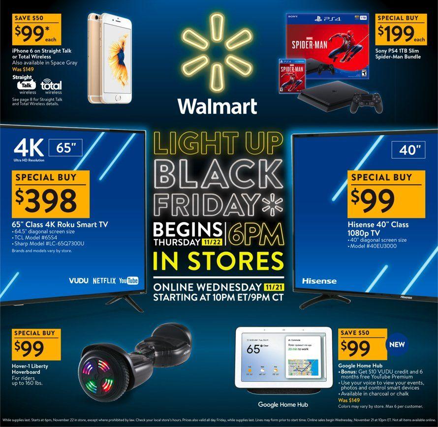 Walmart Black Friday 2018 Page 1 Walmart Black Friday Ad Black Friday Ads Black Friday Offers