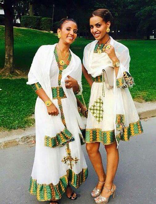Pin by Betty Fesseha on Melsi | Ethiopian wedding dress
