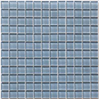 Martini Mosaic Piazza Bluestone Gl 12 Inch Square Tile Sheets Set Of 10