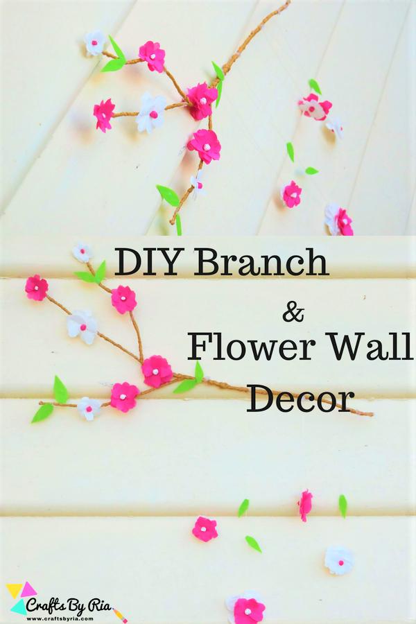 Beautiful Diy Branch And Decor Wall Decor Craft Idea This Diy