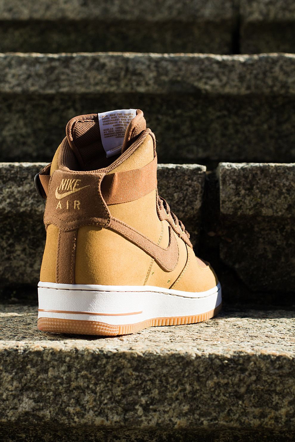 "finest selection 040c9 8d191 Nike Air Force 1 High ""Light British Tan"" (Detailed Preview Pics)"
