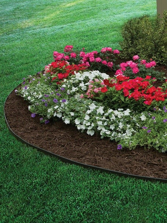 Lawn Edge And Bed Border: Numerous Ideas And Practical Tips #border #ideas  #numerous #practical