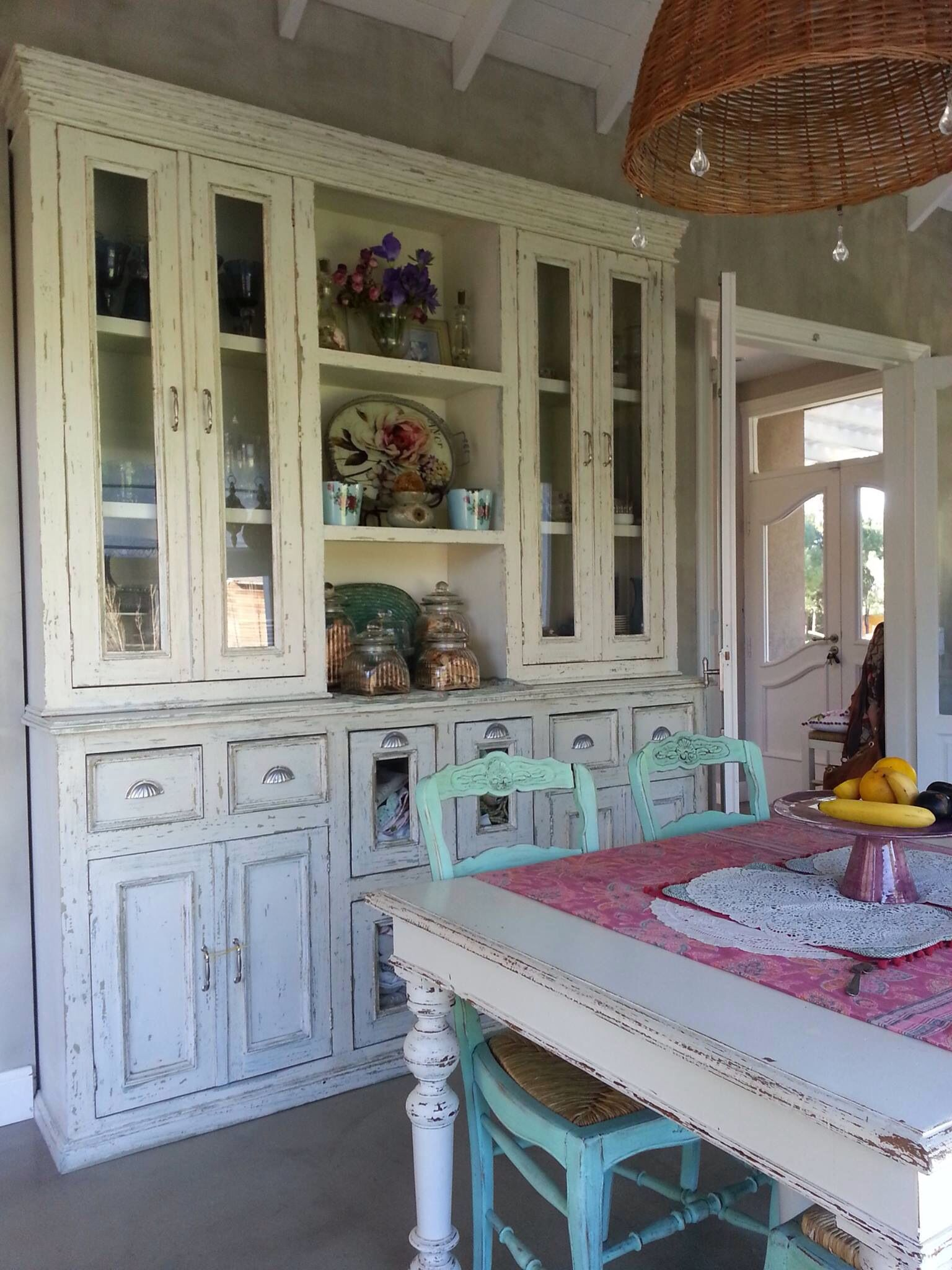 Mueble cocina Vintage | casa | China cabinet, Decor y Home Decor