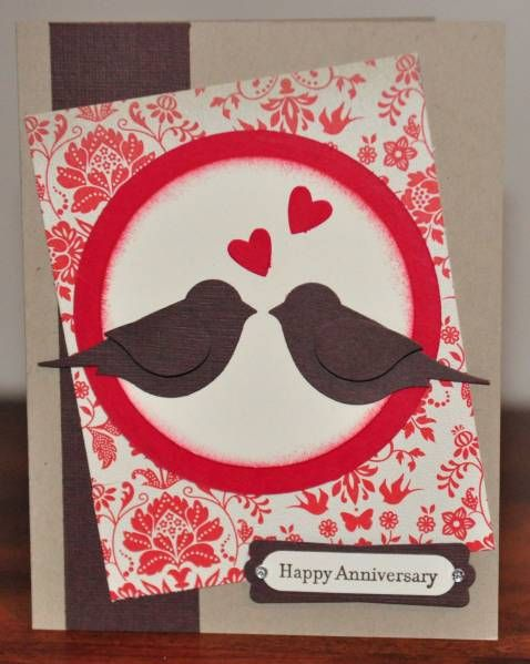 Happy Anniversary Greeting Card By Snippetsbydesign Cards And Paper Crafts At Splitcoaststampers Anniversary Greeting Cards Cards Happy Anniversary
