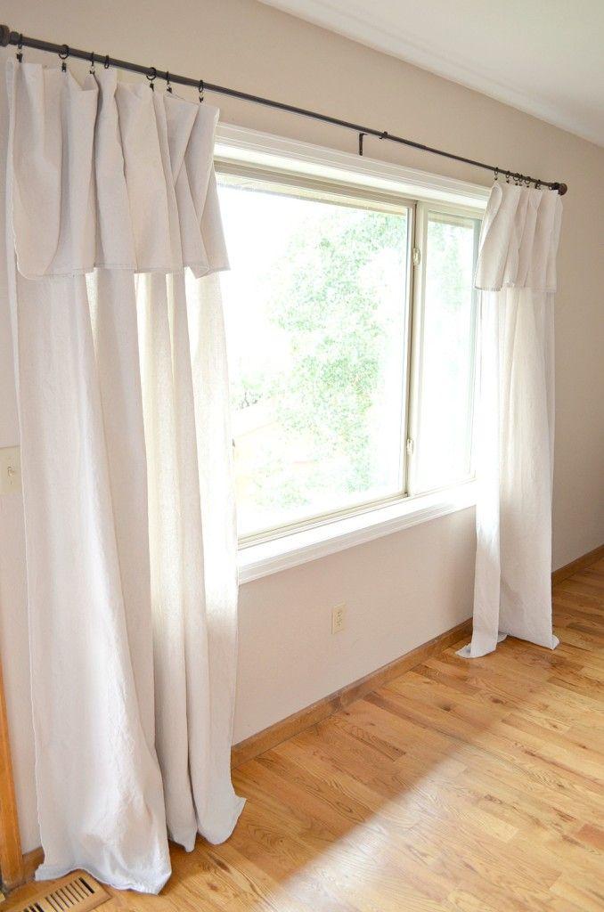 Drop Cloth Curtain Review Home Farmhouse Curtains Diy Curtains