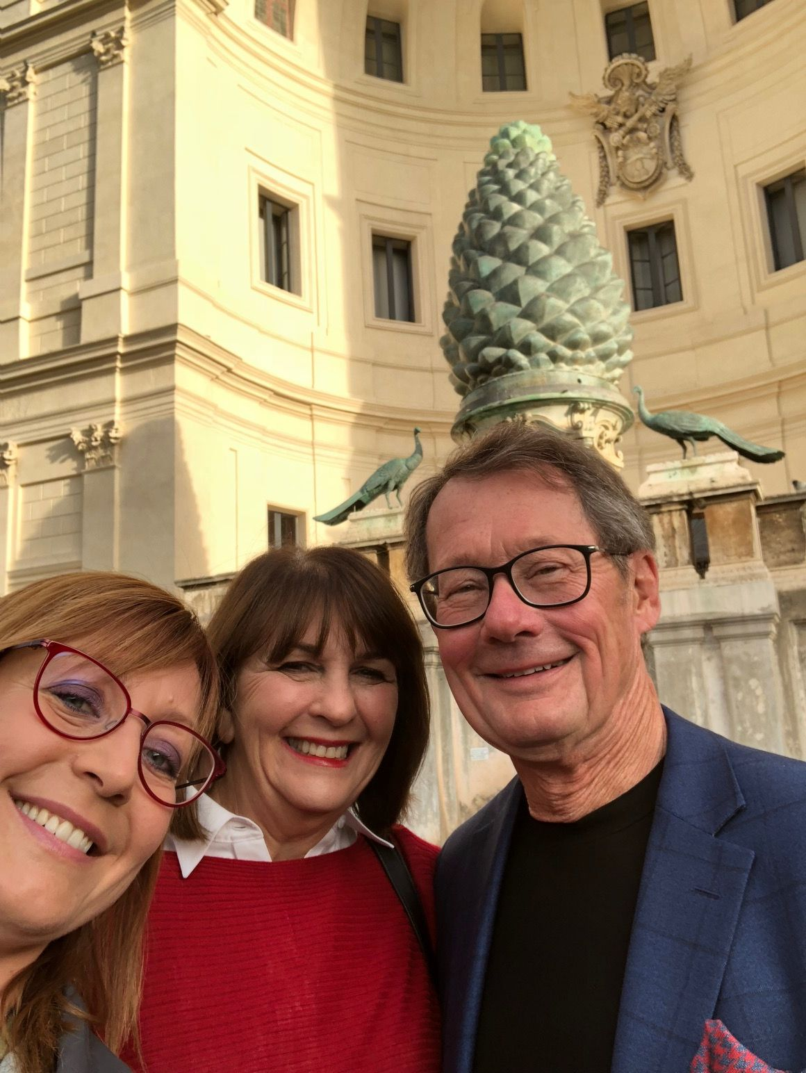 Our Guide Francesca Took This Selfie With Our Clients In