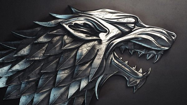 Dire wolf Game of thrones fans, Game of thrones art