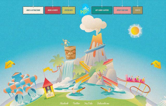 30 Examples Of Beautiful Illustration In Websites Fun Website