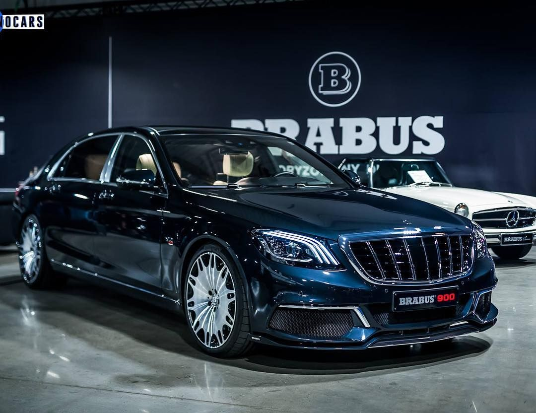Brabus 900 Based Off The Maybach 650 With The Latest Forged