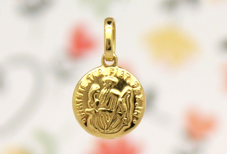 2337a9393d6f3 Pingente São Bento Pequeno Ouro 18k 750   Joias - Jewelry - Jewels ...