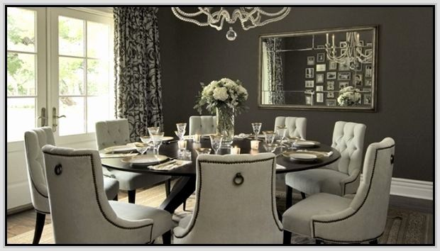 8 Seating Dining Room Table Lovely Round Dining Table For 8 With