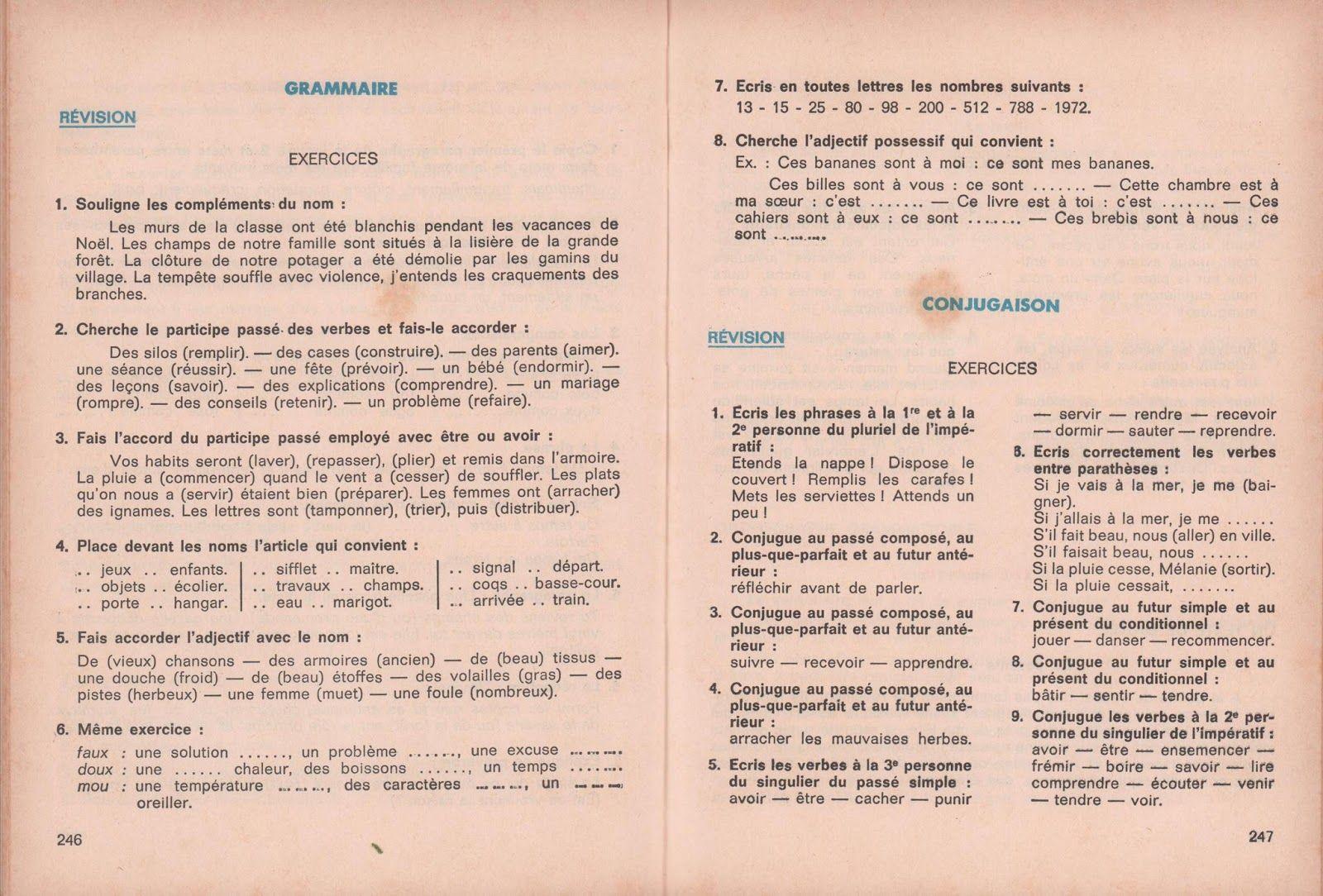 Macaire Barre Baud Mon Livre Unique De Francais Cm1 1972 Grandes Images Manuel Scolaire Francais Cm1 Macaire