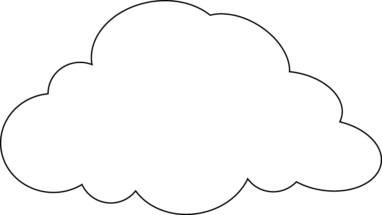 View And Download Hd Drawing Cloud 48 Printable Cloud Pattern Png Image For Free The Image Resolution Is 1223x68 Clouds Pattern Cloud Template Cloud Outline