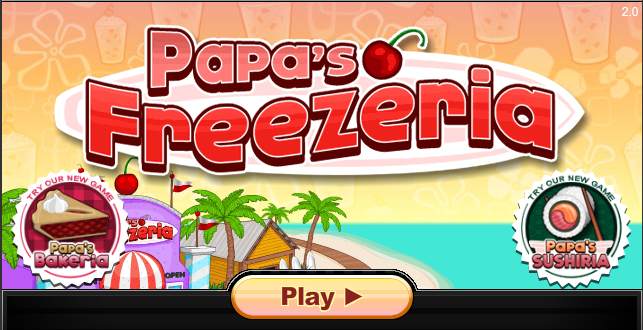 Papa S Freezeria Online Games For Kids Games For Kids Games For Girls