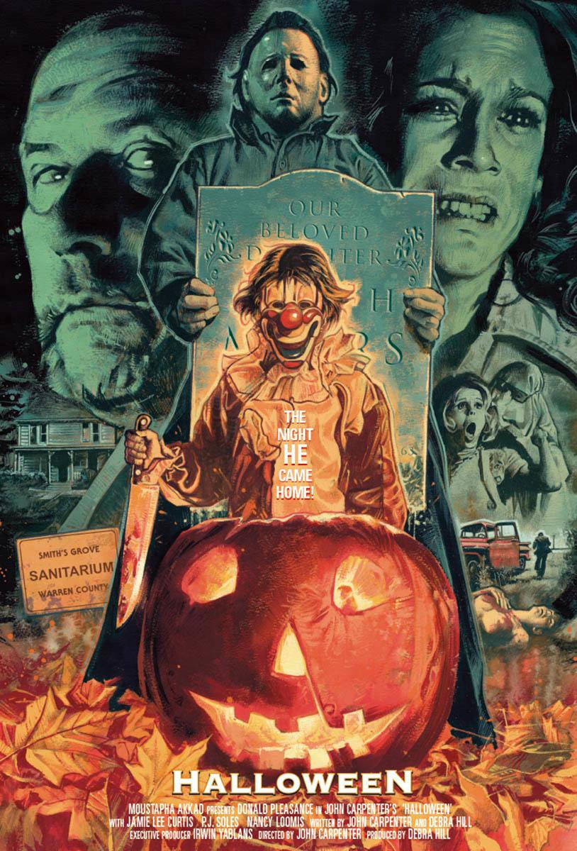 Halloween by Graham Humphreys, 2020 Korku sanatı