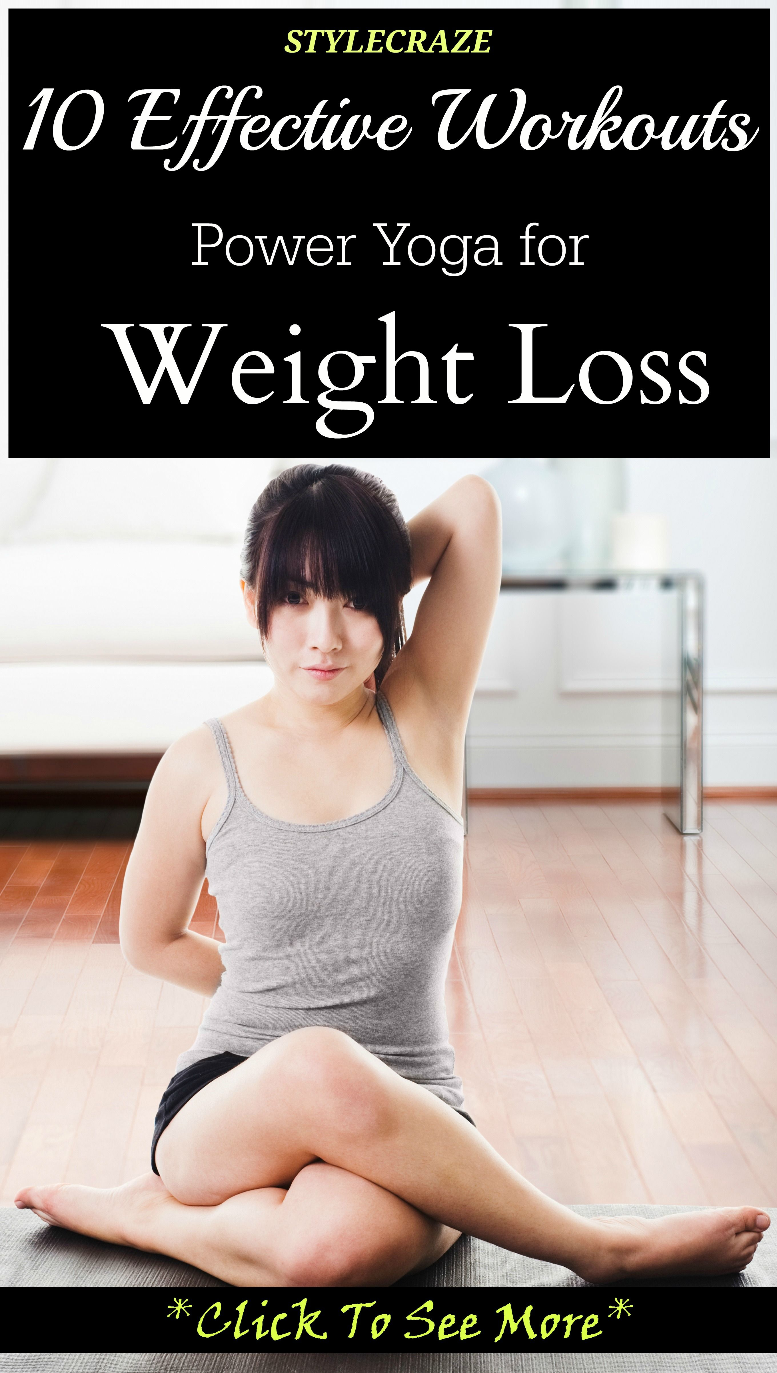 how to lose weight fast with yoga at home