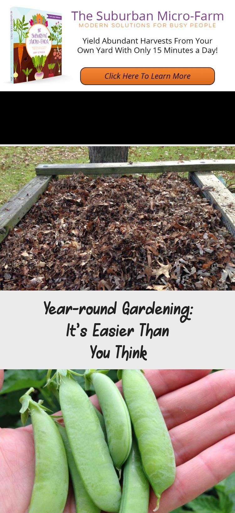 your harvest to all 12 months of the year with a yearround gardening plan Are you ready to take your garden to the next levelExtend your harvest to all 12 months of the y...