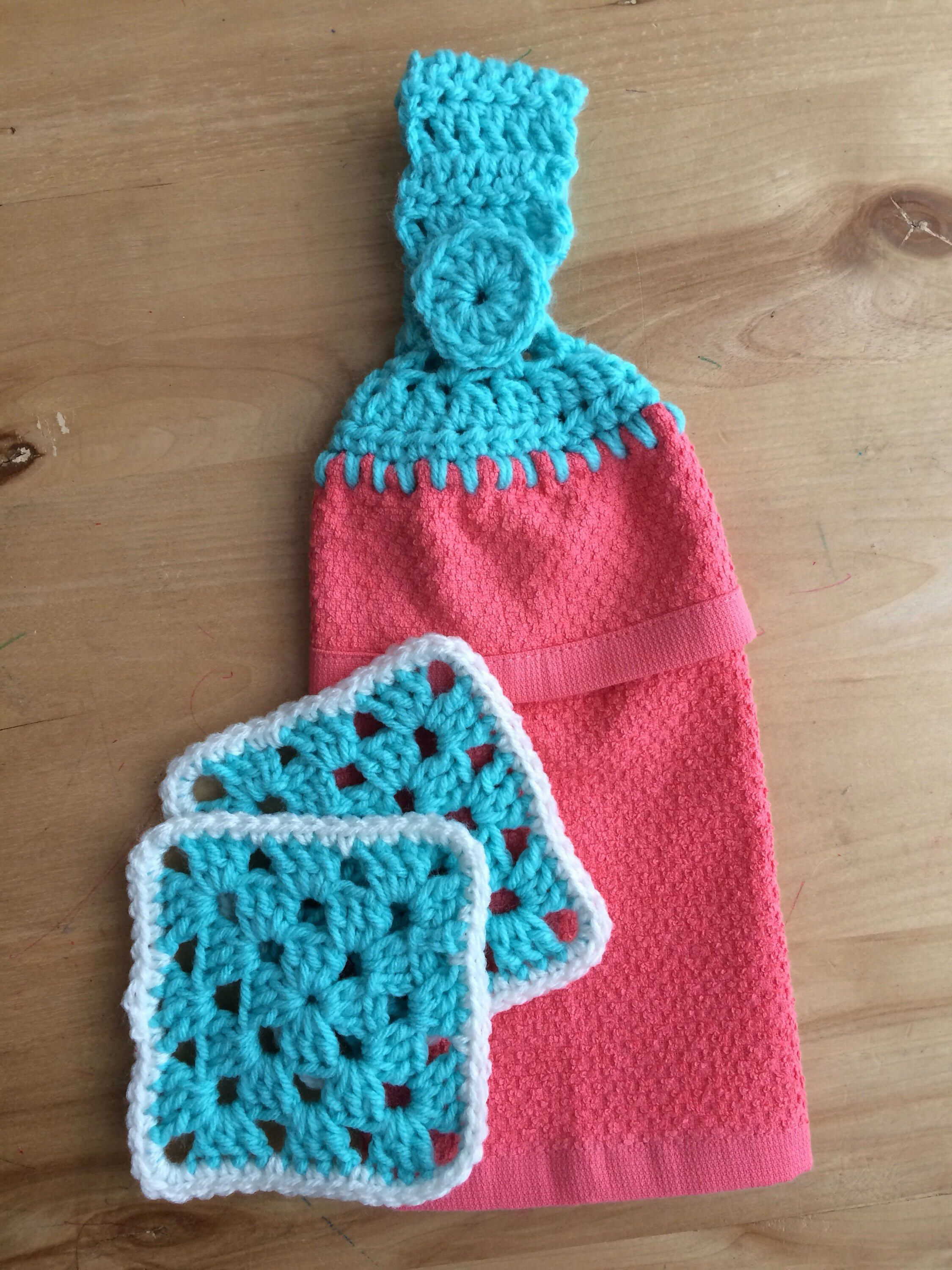Play Kitchen Towel and Hotpad Set - Hanging Towel and Hotpad Set ...