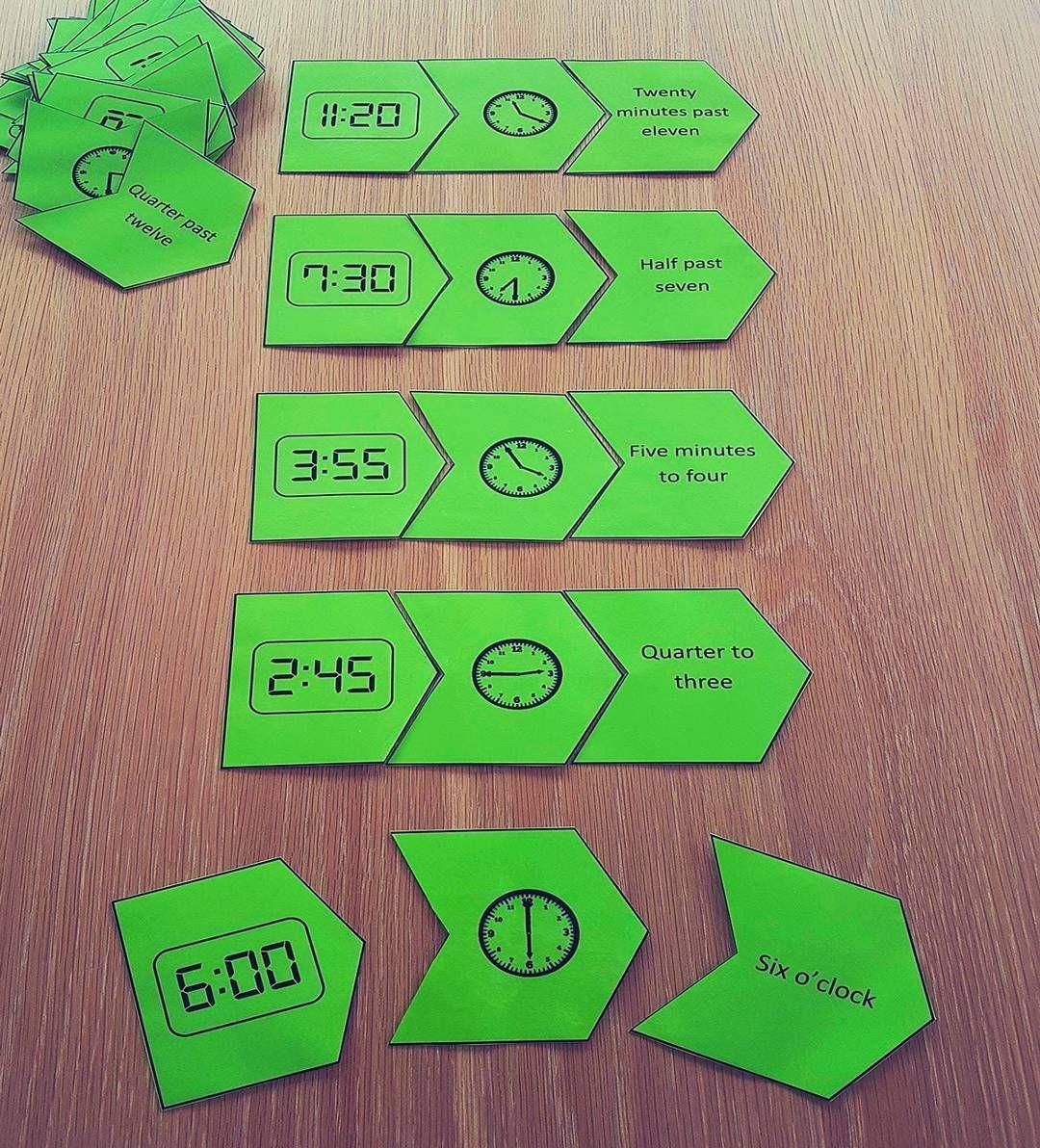 Digital Analogue Math Measurement Time Puzzle Game Activity Math Time Math Drills Math [ 1192 x 1080 Pixel ]