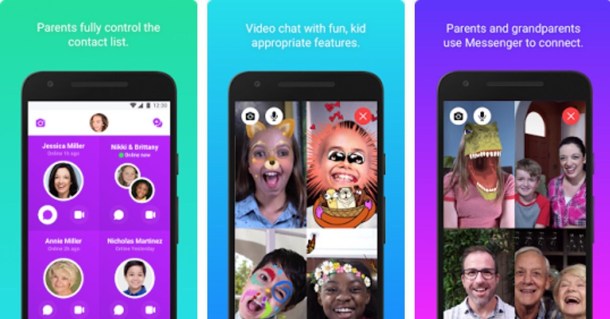 Messenger Kids finally makes its way to Android devices in