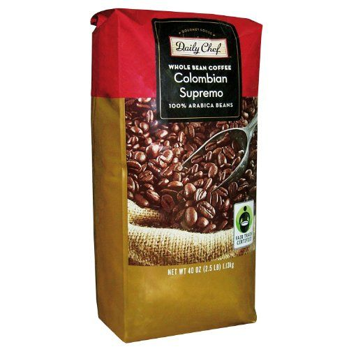 Daily Chef Whole Bean Colombian Supremo Coffee 25 Lb Find Out More About The Great Product At The Image Link It Is An Affiliate L With Images Coffee Beans Coffee Beans