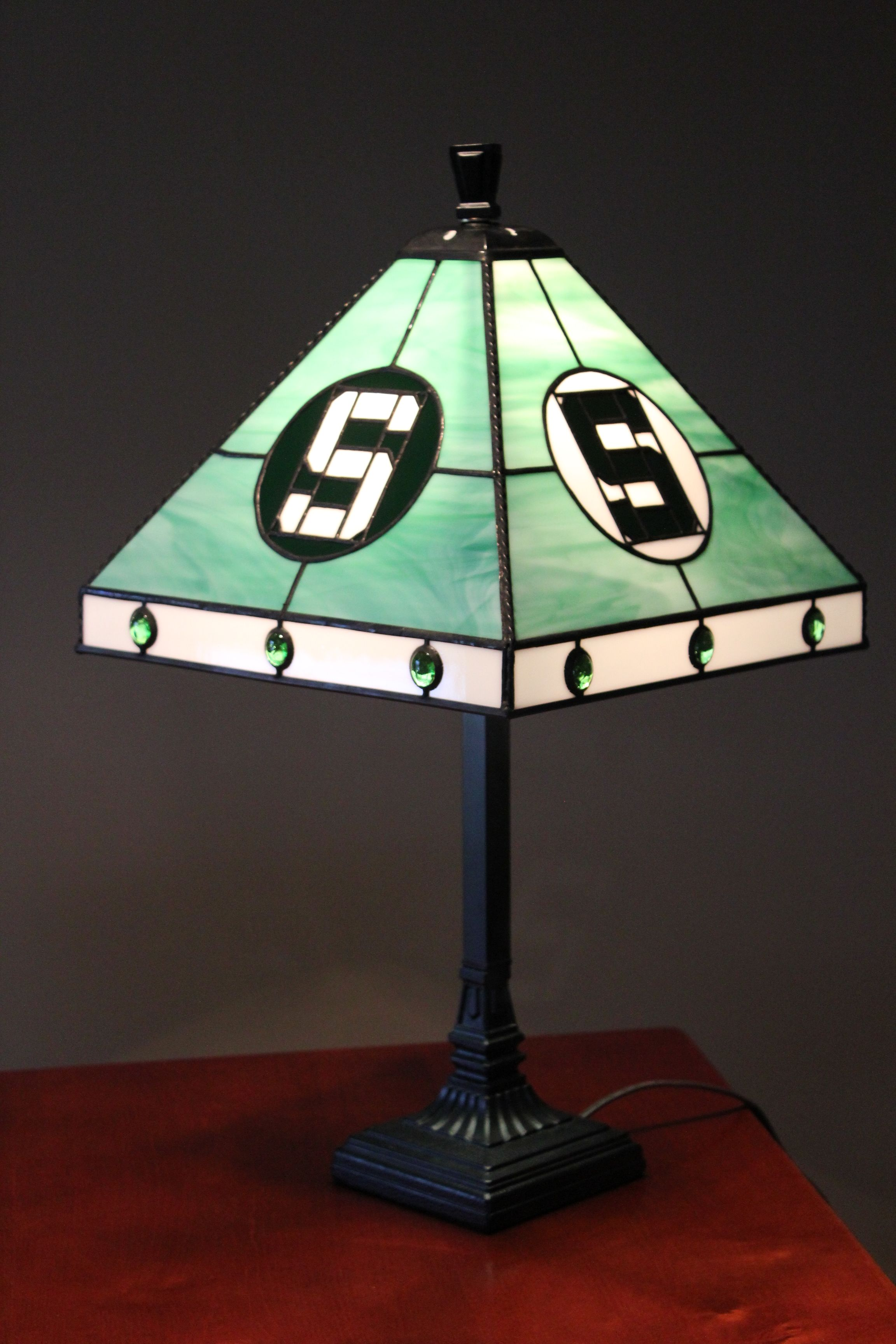 Awesome Michigan State Spartans Lamp Made For Granddaughter Presley Home Interior And Landscaping Palasignezvosmurscom