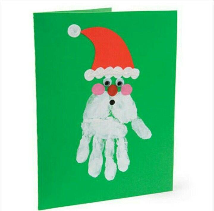 Новогодние поделки и открытки своими руками для детского сада