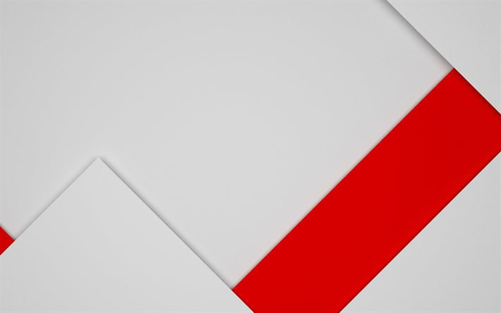 Download Wallpapers Red Line 4k Gray Backround Art Strips Design Material Abstract Material Besthqwallpapers Com Red And White Wallpaper White Wallpaper Love Wallpaper