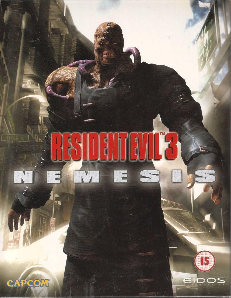 Cover Art For Resident Evil 3 Nemesis Dreamcast Database
