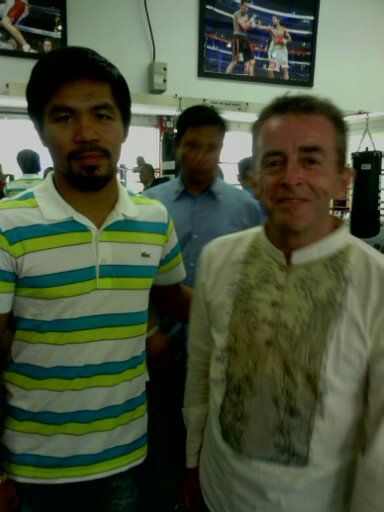 photos of my experience at the boxing training camp of Team Pacquiao in the Philippines
