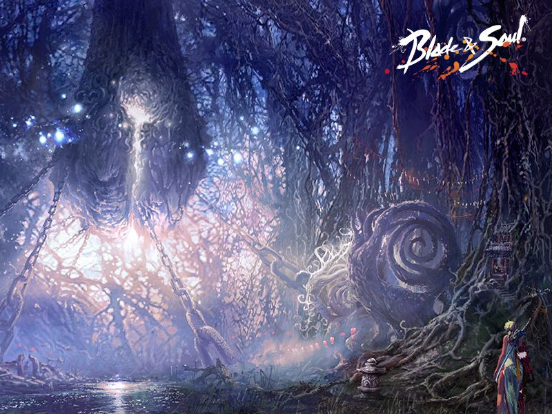 Concept Art Blade And Soul Root Forest Concept Art Concept