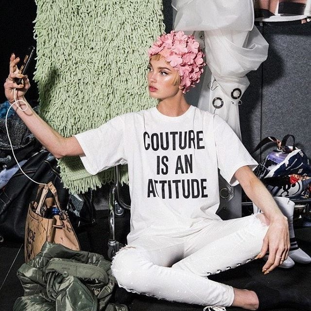 Couture is an attitude. @romeestrijd