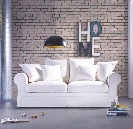 Sofa naturweiß daunenfedern bei mömax günstig online zu bestellen