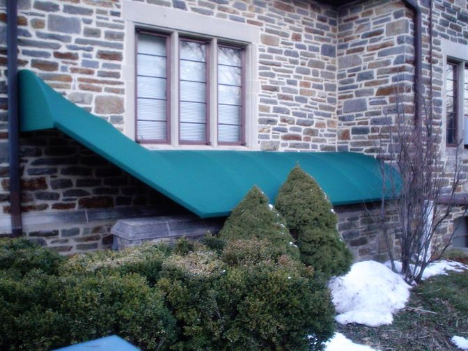 Residential Awnings Residential Awnings Basement Stairway
