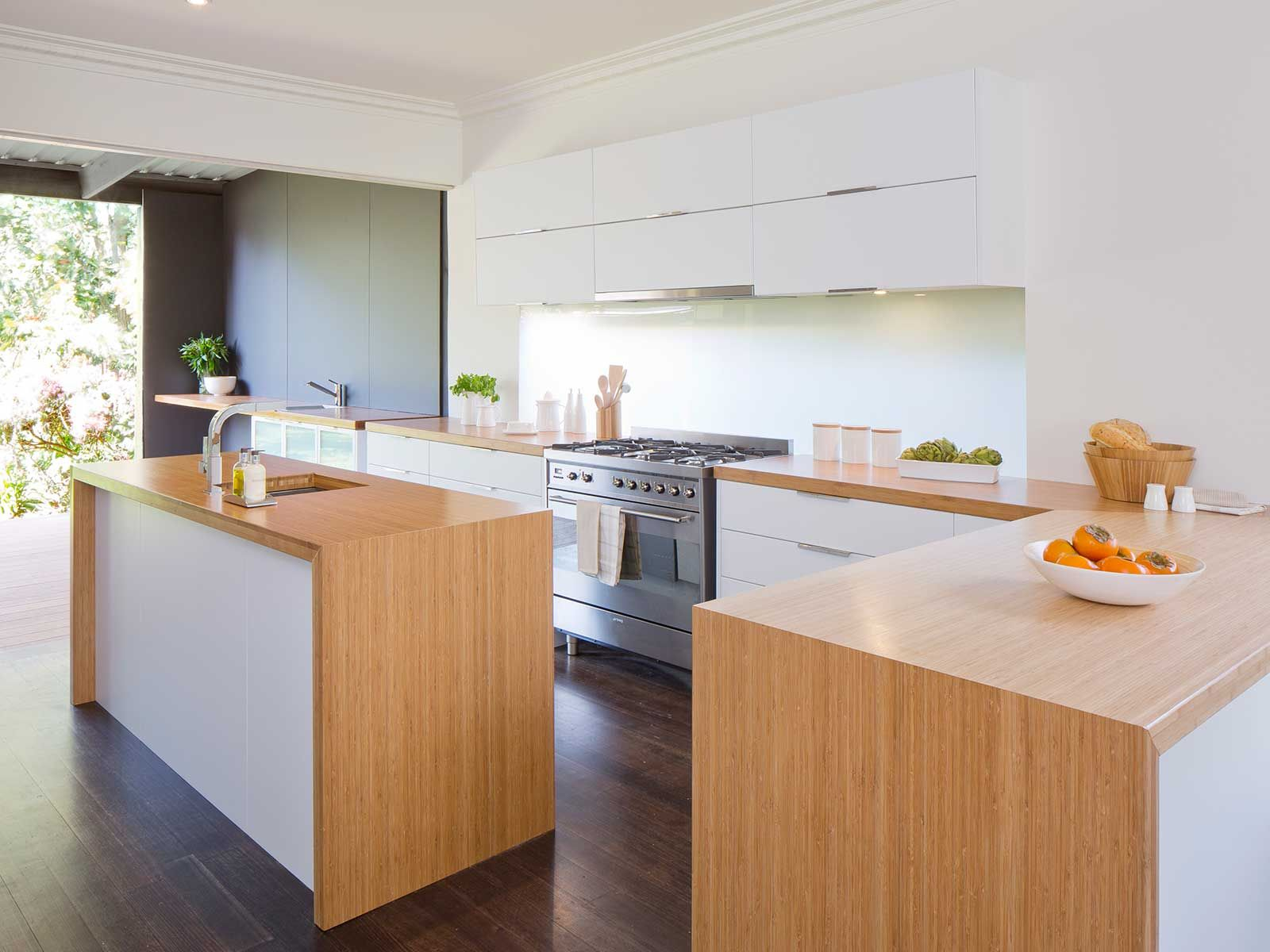 picture bunnings kaboodle bamboo kitchen Google Search