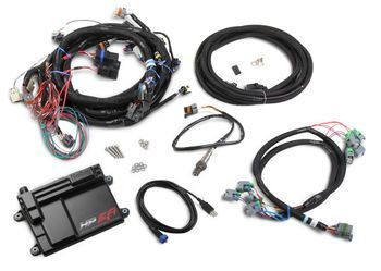 holley hp efi gm ls 58x ecu harness kit w bosch o2 550 603 rh pinterest com Fuel Injector Wiring Harness Car Stereo Wiring Harness