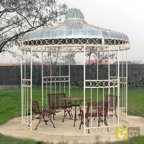 kiosque en fer forg pergolas pinterest kiosque fer forg et kiosque de jardin. Black Bedroom Furniture Sets. Home Design Ideas