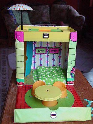 Vintage Barbie Tutti Amp Chris Doll House Case Near Mint