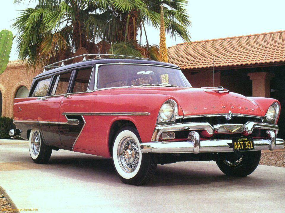 1956 Plymouth Suburban Wagon | Автоамерика | Pinterest | Plymouth ...