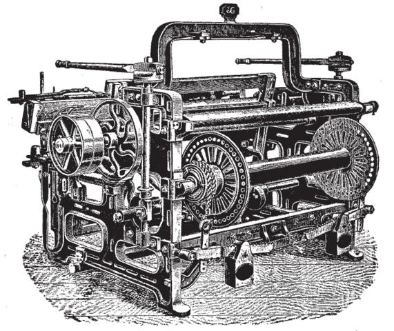 Jan 18 1785 Power Loom Edmund Cartwright Invented The Power Loom