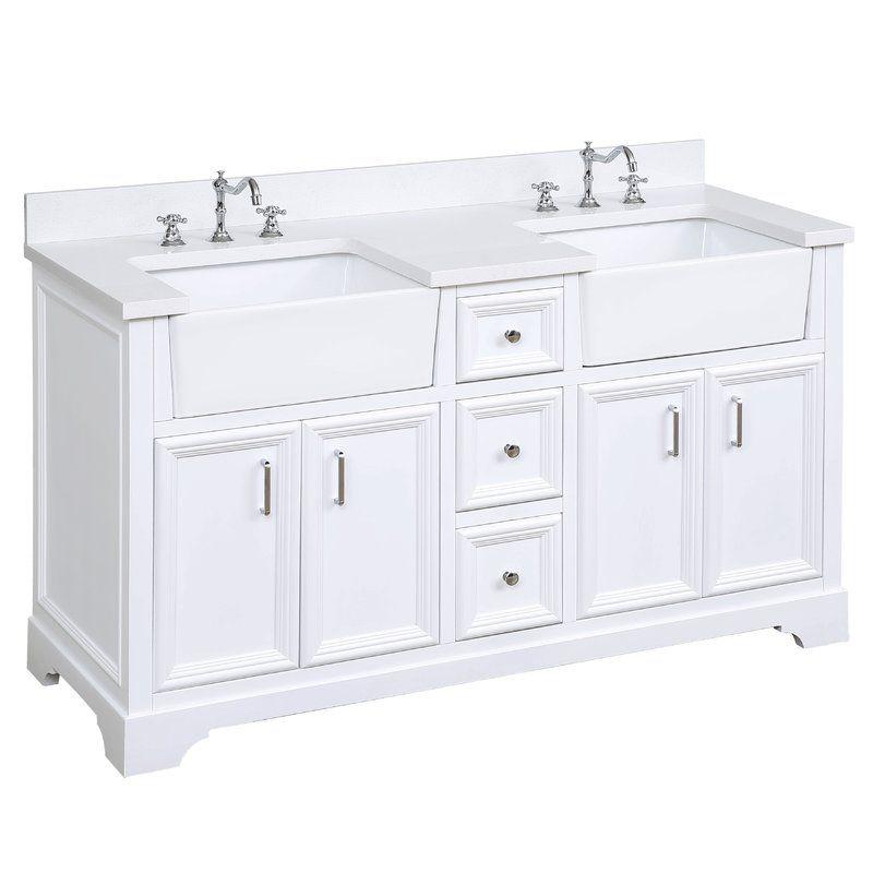 Kbc zelda 60 double bathroom vanity set reviews