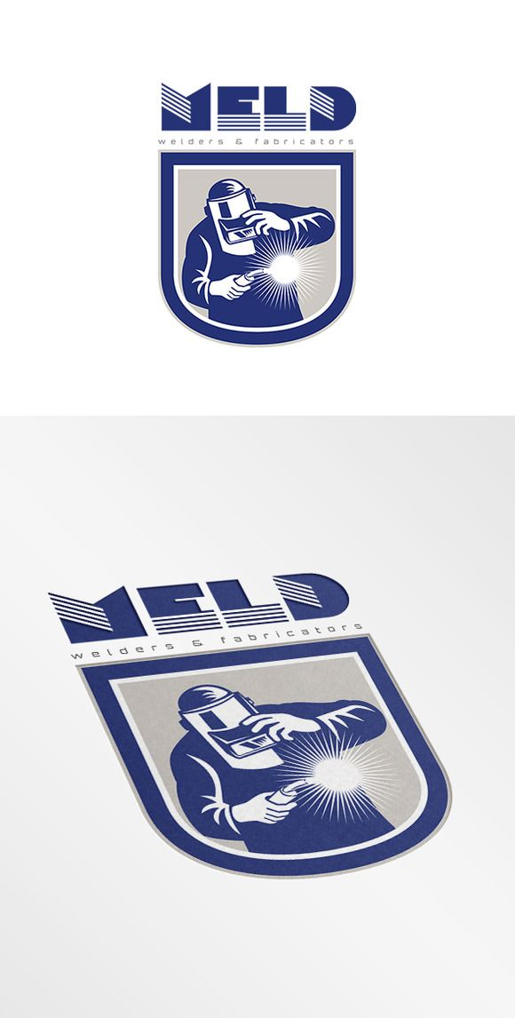 Meld Welders Logo | Сварка, Дизайн